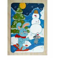 Деревянная игрушка Мозаика Зимняя сказка КРОНА 143-054