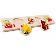 Деревянная игрушка Вкладыши малые Игрушки ЛЭМ 1475