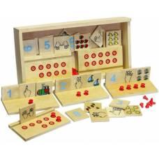 Деревянная игрушка Игра обучающая Учимся считать ЛЭМ 1513