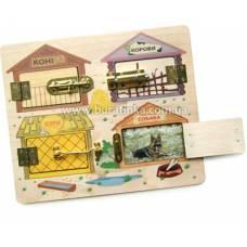 Деревянная игрушка Игра Замочки СВЕНА 6002