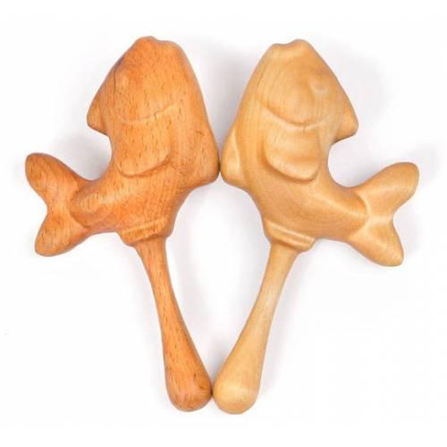 Деревянная игрушка Шумелка Рыбка ТОМИК 703-1