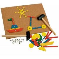 Деревянная игрушка Игра с молоточком BINO 82188