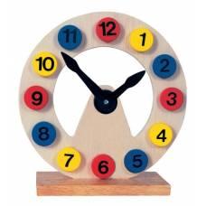 Деревянная игрушка Часы BINO 84050