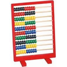 Деревянная игрушка Счеты красные BINO 84109