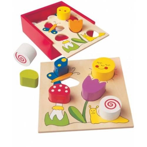 Деревянная игрушка Сортер Bella Florina BINO 84154