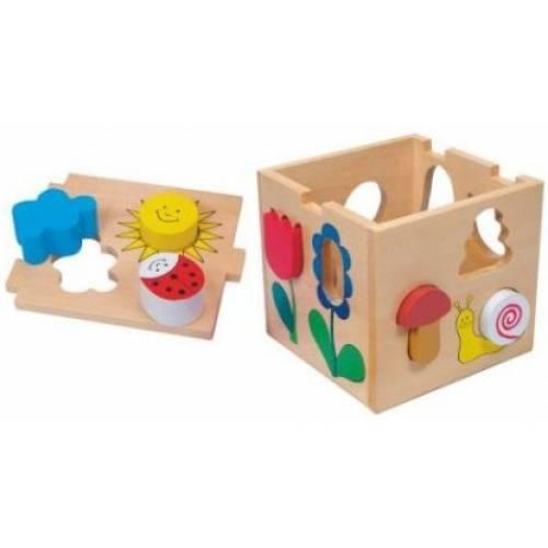 Деревянная игрушка Сортер Florell BINO 84165
