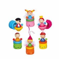 Деревянная игрушка Футляр для первых зубов Пират фея BINO 86023