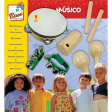 Деревянная игрушка Мини-оркестр BINO 86550