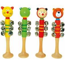 Деревянная игрушка Бубенцы Животные BINO 86586