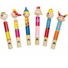 Деревянная игрушка Свисток большой BINO 86600