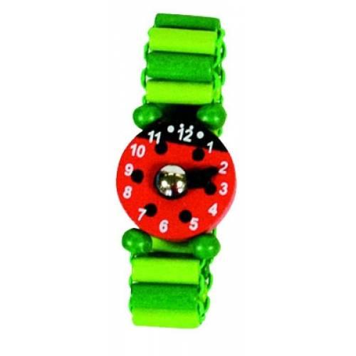 Деревянная игрушка Часы зеленые BINO 87118