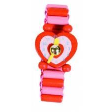 Деревянная игрушка Часы красные BINO 87121