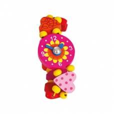 Деревянная игрушка Часы Сердце BINO 87129