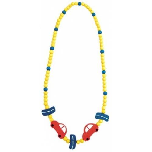 Деревянная игрушка Ожерелье Автомобиль BINO 89084