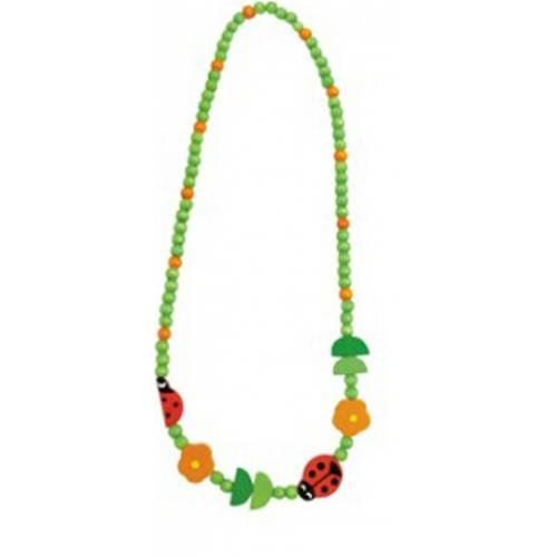 Деревянная игрушка Ожерелье Божья коровка BINO 89086