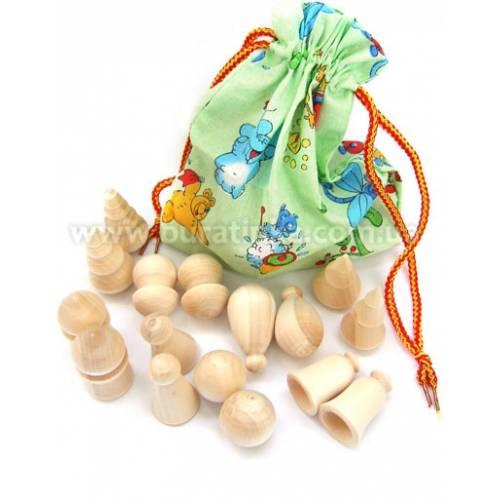Деревянная игрушка Волшебный мешочек Фигурный RNTOYS Д-140