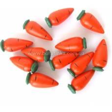 Деревянная игрушка Счетный материал морковки RNTOYS Д-365