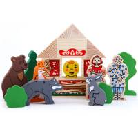 Деревянные игрушки Конструктор Сказки Колобок ТОМИК 4534-2