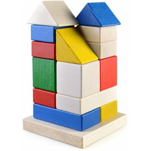 Деревянная игрушка Пирамидка Башня ТАТО кс-002