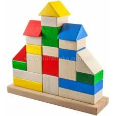 Деревянная игрушка Пирамидка Замок ТАТО кс-003