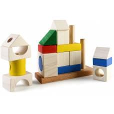 Деревянная игрушка Пирамидка Усадьба ТАТО кс-005