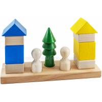 Деревянная игрушка Пирамидка Соседи ТАТО кс-007