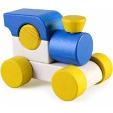 Деревянная игрушка Паровоз мини ТАТО кт-002