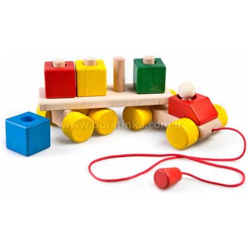 Деревянная игрушка Грузовик большой ТАТО кт-012