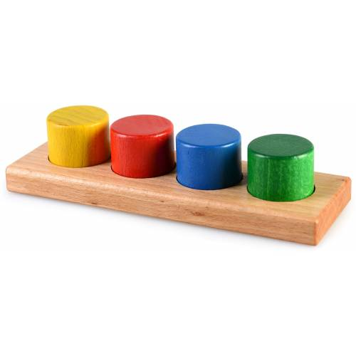 Деревянная игрушка Цилиндры-вставки ТАТО вк-001