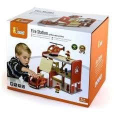 Игровой набор Viga Toys Пожарная станция 50828
