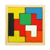Деревянная игрушка Головоломка Тетрис Woody MD 0308
