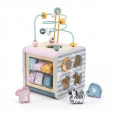 Игровой центр Viga Toys PolarB Кубик 5-в-1 44030