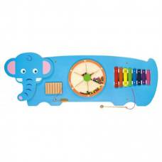 Настенная игрушка бизиборд Viga Toys Слон 50472