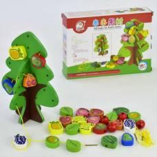 Деревянная игрушка Шнуровка Дерево Wooden Toys