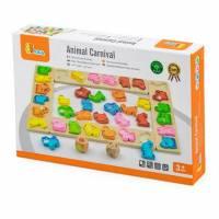 Игра-сортер Viga Toys Карнавал животных 50450