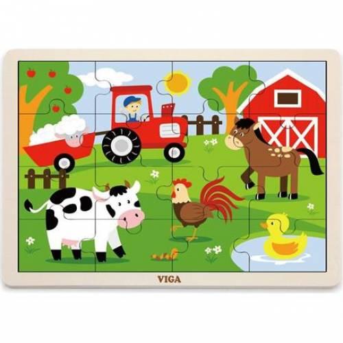 Пазл Viga Toys Ферма 51448