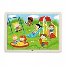 Пазл Viga Toys Парк развлечений 51454