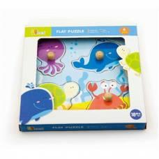 Пазл Viga Toys Морские обитатели 50132