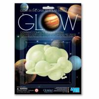 Игровой набор 4M Светящиеся 3D-наклейки Солнечная система 00-05423