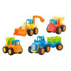 Игрушка Hola Toys Грузовичок 4 шт. 326