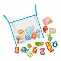 Игровой набор 4M Наклейки для ванной Зоопарк 00-04746