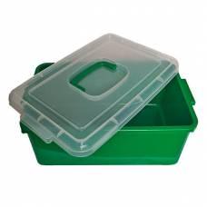 Контейнер пластиковый большой Gigo зеленый 1140GG