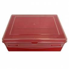 Контейнер пластиковый Gigo красный 1033R