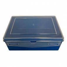 Контейнер пластиковый Gigo синий 1033B