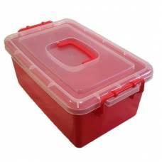 Контейнер пластиковый большой Gigo красный 1140RR