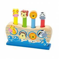 Деревянная игрушка  Игрушка Viga Toys Веселый ковчег 50041