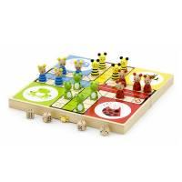 Деревянная игрушка  Игра настольная Viga Toys Лудо 50064
