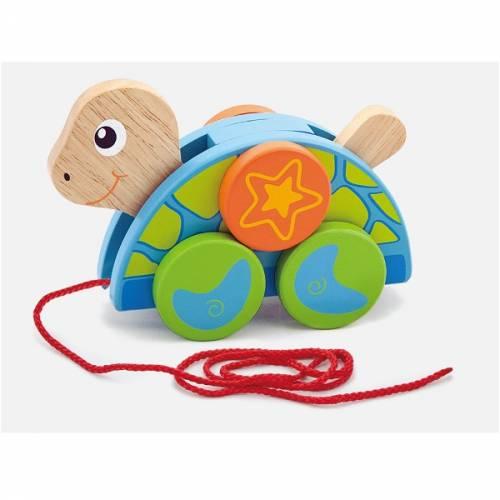 Деревянная игрушка  Игрушка-каталка Viga Toys Черепаха 50080
