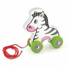 Деревянная игрушка  Игрушка-каталка Viga Toys Зебра 50093