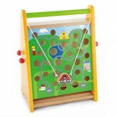 Деревянная игрушка  Игра Viga Toys По полю - по морю 50109
